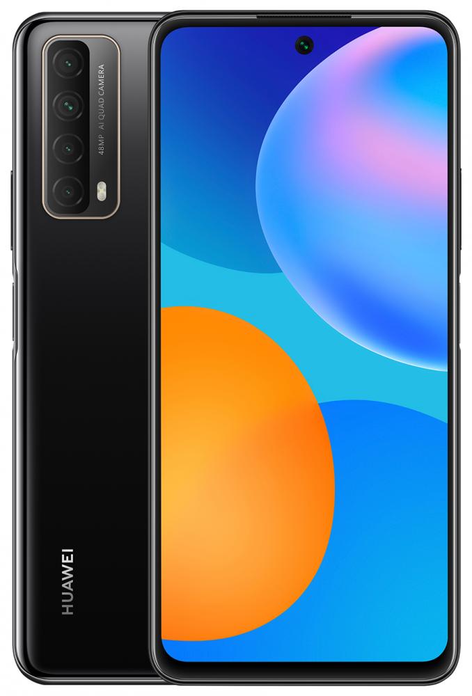 Смартфон HUAWEI P smart (2021) Black, Green