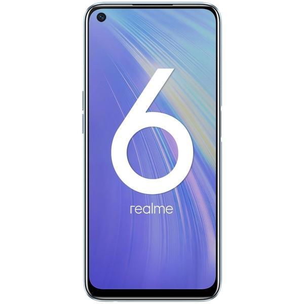 Смартфон realme 6 4/128GB Blue, White