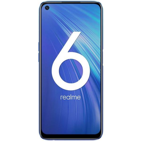 Смартфон realme 6 8/128GB White, Blue