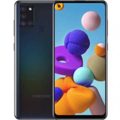 Смартфон Samsung Galaxy A21s 3/32GB Black, Blue, Red