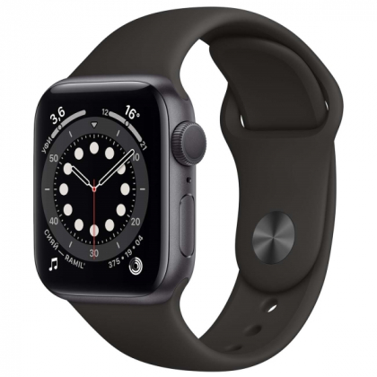 Смарт часы Apple Watch Series 6 GPS 44mm Black, Gold, Silver, Red, Blue