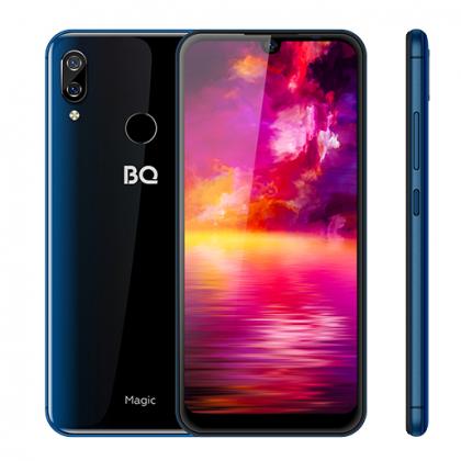 Смартфон BQ 6040L Magic (Dark Blue, Black)
