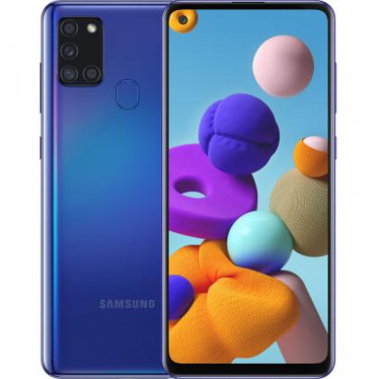 Смартфон Samsung Galaxy A21s 3/32GB Blue, Red, Black