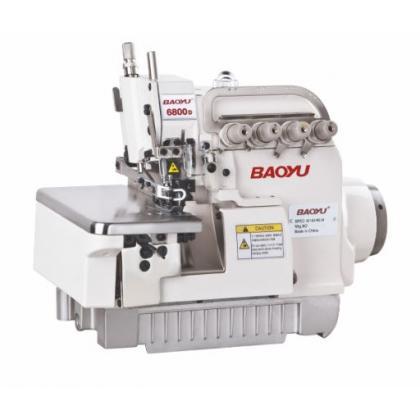 Скоростной оверлок со встроенным энергосберегающим сервомотором Baoyu BML-6800D-4