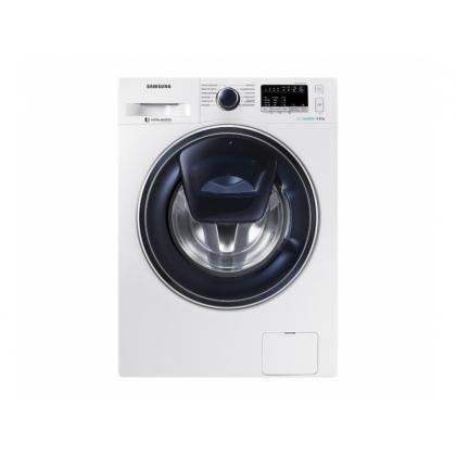 Стиральная машина Samsung Eco Bubble WW80K6210RW Addwash VRT+ (Белая) 7 Кг