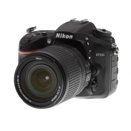 Фотоаппарат Nikon D7200 Kit 18-140mm Wi-Fi