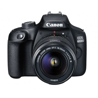 Фотоаппарат Canon EOS 4000D Kit 18-55mm III Wi-Fi