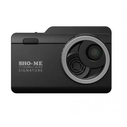 Видеорегистратор с анти-радаром SHO-ME Combo Slim Signature