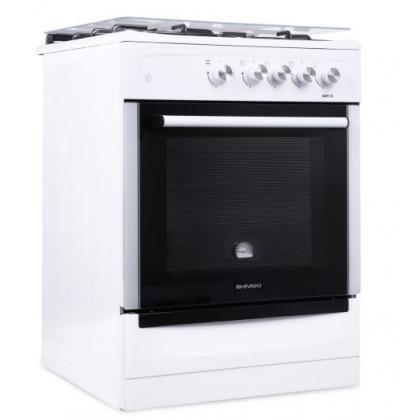 Газовая плита Shivaki 6401-G (Белая)