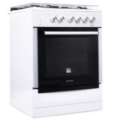 Газовая плита Shivaki 6402-G (Белая)